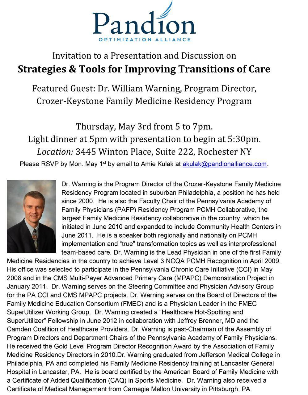 Monroe County Medical Society Bulletin Board